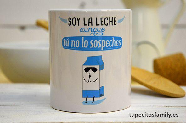 Sí, sí, soy la leche!! Yeaaaaah! #Taza #TazaMolona #SoyLaLeche  #EresLaLeche #Motivacion #Tupecitos #Tupecitosfamily