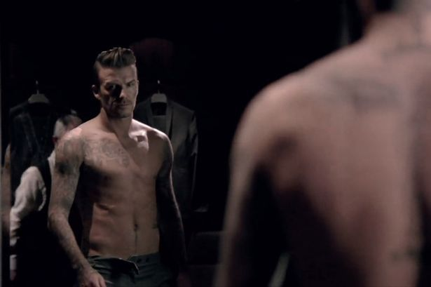 David Beckham's new advert for his aftershave, David Beckham Classic