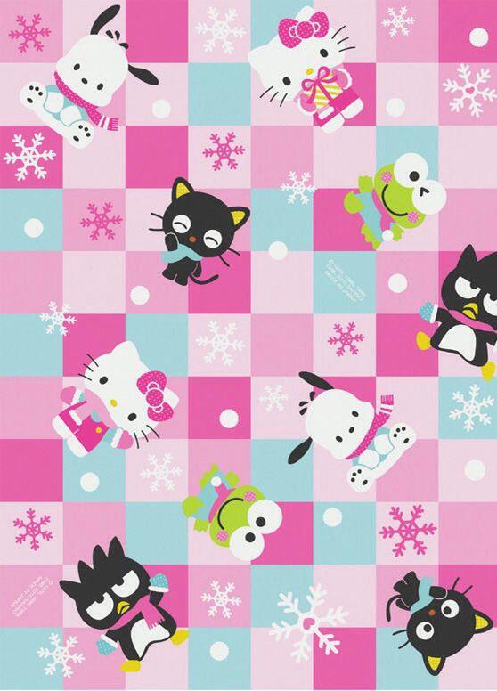 Hello Kitty Tapete Auf Rechnung : Hello Kitty Characters