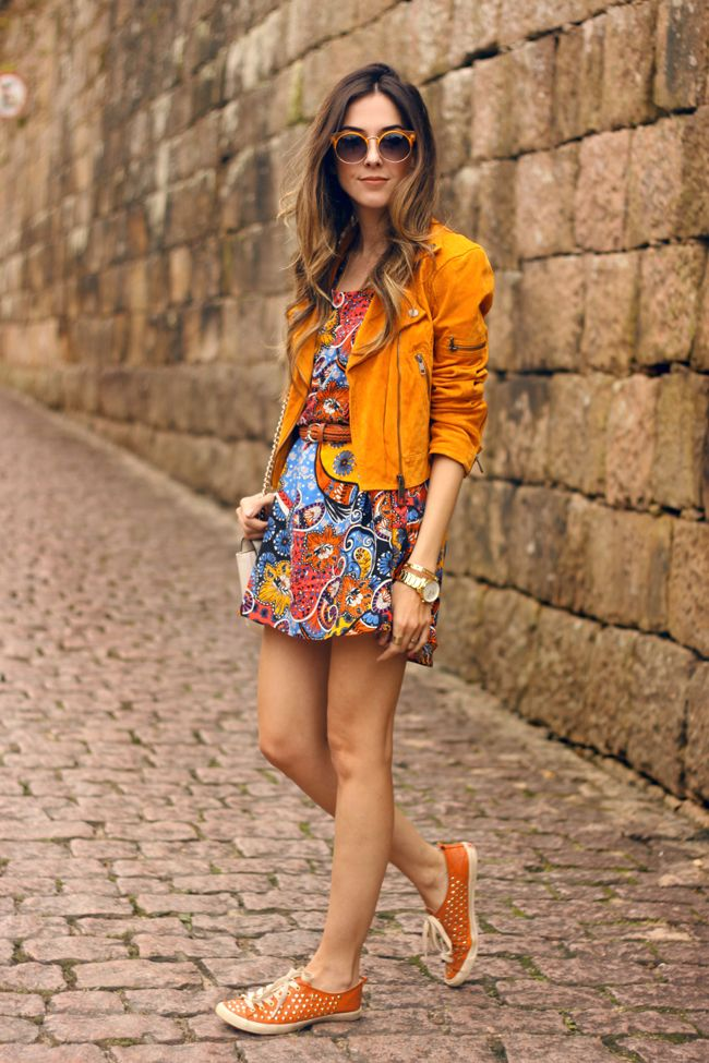 FashionCoolture - 28.10.2015 look du jour Anna Morena paisley printed dress (1)