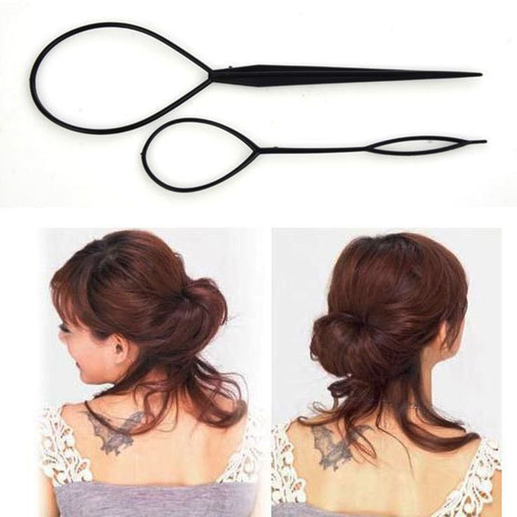 2PCS/Lot Styling Tools Hair Styling Topsy Tail Hair Braiding Machine Clips For Hair Curler For Hair Acessorios Para Cabelo