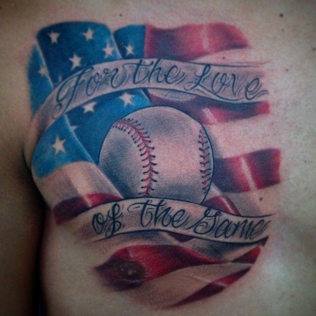 Baseball Tattoos    By Bullseye Tattoo artist @mattfibikar #baseball #bullseyetattooshop