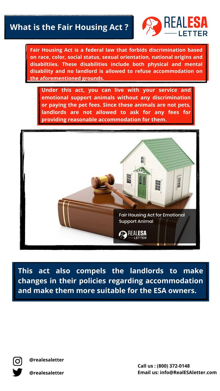 14+ Fair housing act section 504 emotional support animal ideas