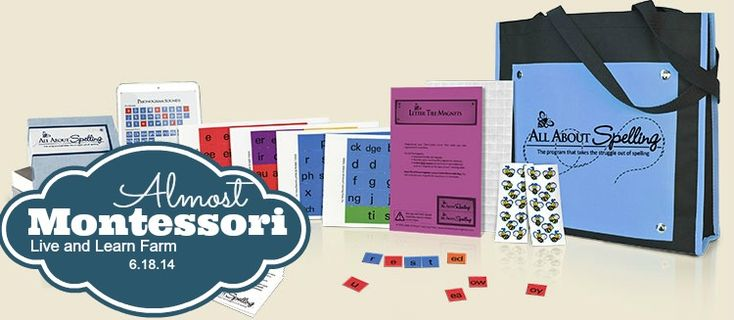 Almost Montessori - All About Spelling | Live and Learn Farm