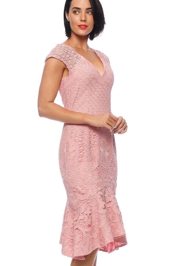 Pink Ruby - Amelie Flip Dress - Soft Pink - Pd175108