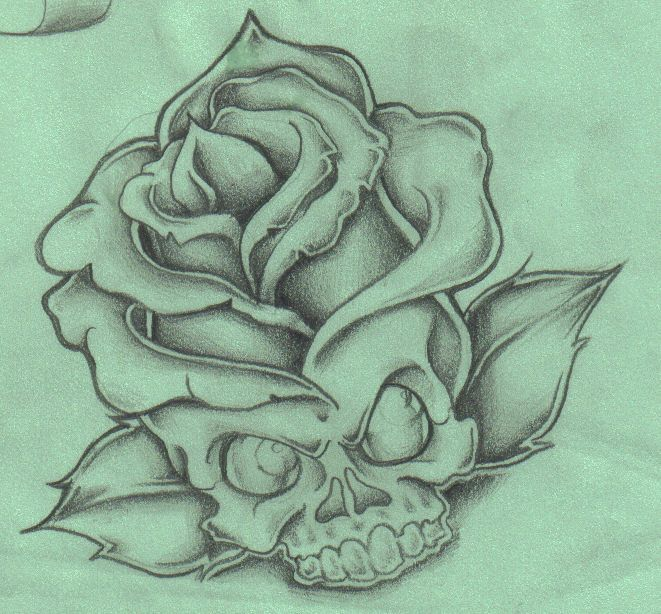 Rose On Fire Drawing Tattoos Pinterest Adventure Time Tattoo