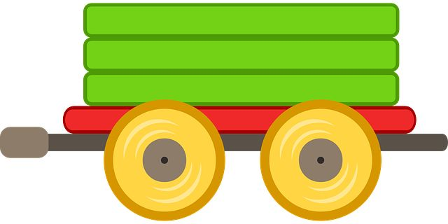 Бесплатное изображение на Pixabay - Поезд, Автомобиль, Игрушка, Зеленый
