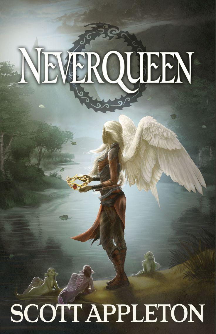 """New Cover Revealed For """"neverqueen"""" By Scott Appleton #christian #fantasy"""