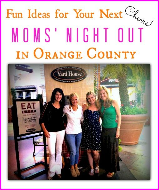 Fun Ideas for Your Next Moms' Night Out