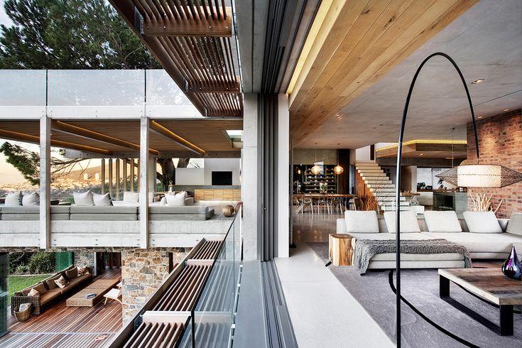 contemporary home - Higgovale, Cape Town by Three14 Architects - three14 a r c h i t e c t s #Three14Architects #KimBenatar #SianFisher