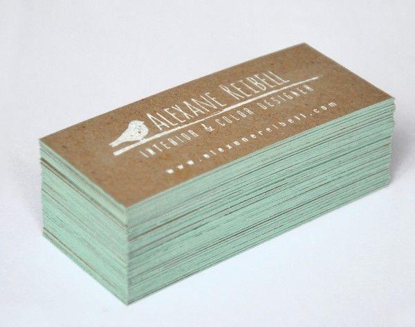 Un format original pour vos cartes de visite !