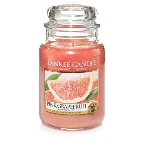 Pink Grapefruit - SŁOIK DUŻY Yankee Candle | MARKI  Yankee Candle ŚWIECE I WOSKI  YANKEE CANDLE  Świece w słojach  Duże słoje (classic) ŚWIECE I WOSKI  YANKEE CANDLE  NOWOŚCI 2015  Love is in the Air |
