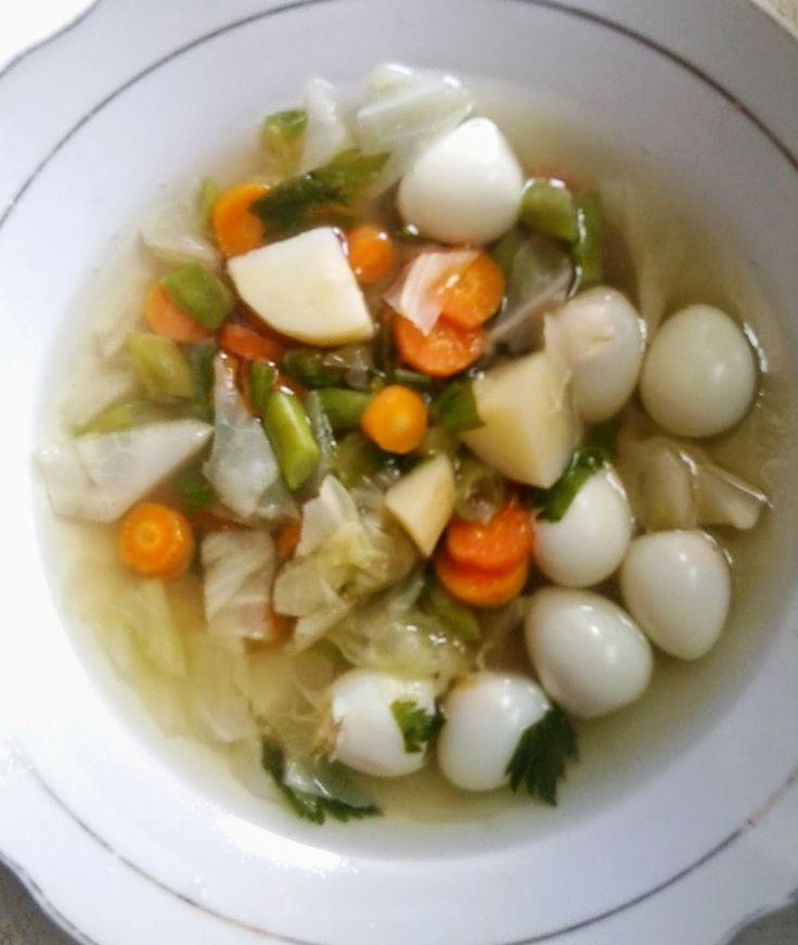 Cara Membuat Sup Telur Puyuh