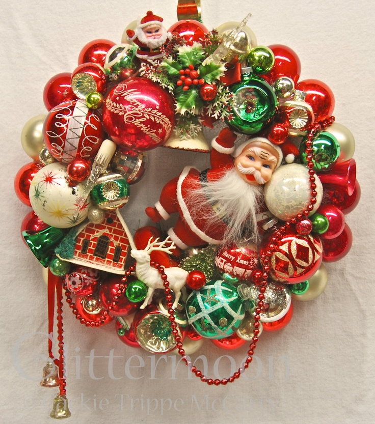 Retro Christmas | ... from Glittermoon Vintage Christmas | Glittermoon Vintage Christmas
