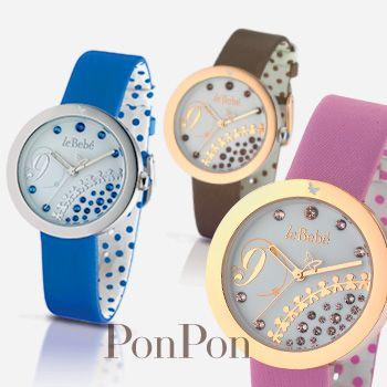 I nuovi orologi #PonPon di #LeBebe