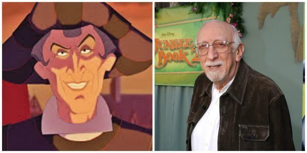 The Faces Behind 31 Disney Villains | Mental Floss, Judge Frollo, Tony Jay