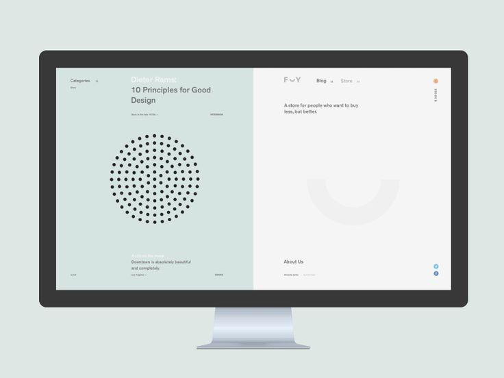 F Y. Post by Sergey Gurov #Design Popular #Dribbble #shots