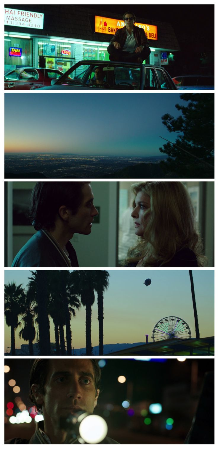 Nightcrawler - Great moody images, along footage that is integral to the story line.