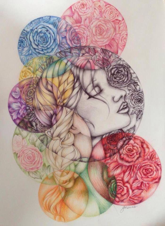 'Myriad' illustration by Johanna Hawke