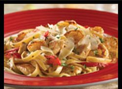 Fridays Cajun chicken pasta... Use some ideas from the creamy Cajun chicken pasta previously pinned, like mushrooms for sure, becuz I know the Fridays version should have mushrooms