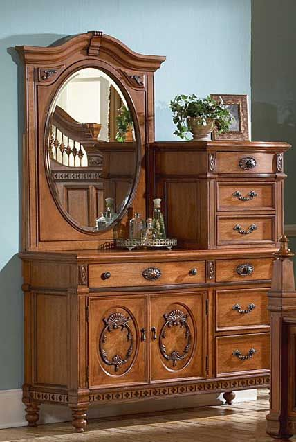 Dresser With Vanity From Magnolia Hall.