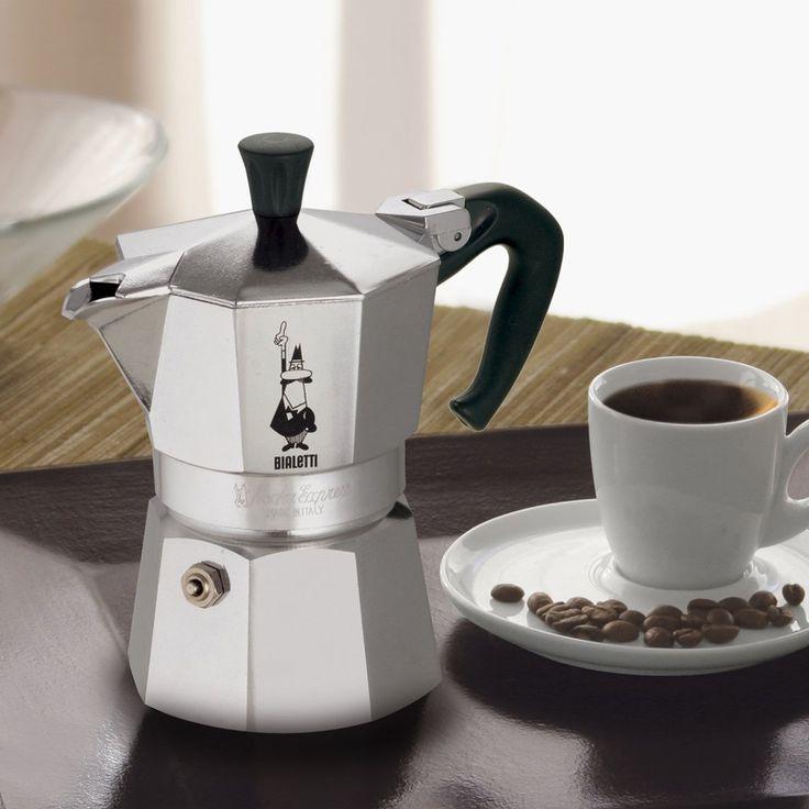Bialetti Moka Express Espresso Maker   Low Price $29.88  Stovetop Percolator Makes Three 2-Oz Cups Of Espresso Coffee, Made In Italy  #Bialetti #coffee #espresso #mokapot #moka #espresso #Italy #Italian #cafe #coffeetime