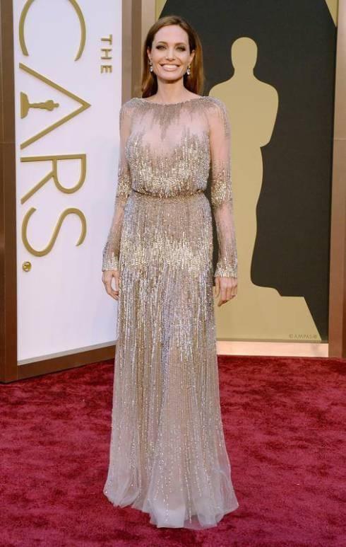 oscars-2014-best-dressed-dames- www.theladycracy, angelina jolie, elie saab, oscar 2014, celebrities stile, best dress 2014