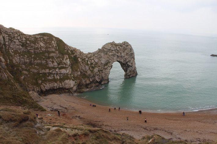 Great beach!  Durdle Door, Dorset