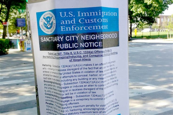 In D.C. fake flyers made to look like they were from Immigration and Customs Enforcement urged residents to report undocumented immigrants.