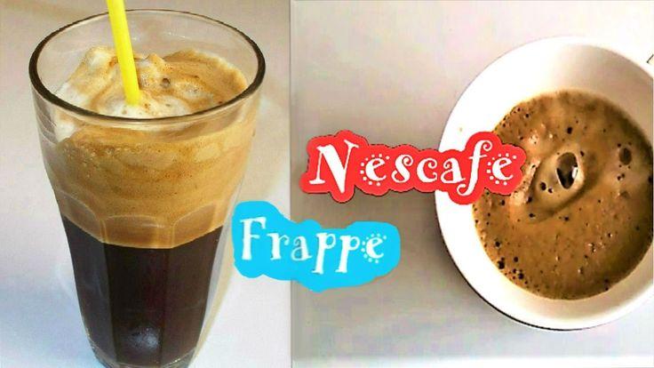 How to make Greek Frappe/Nescafe