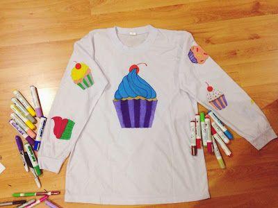 DIY cupcake pyjama
