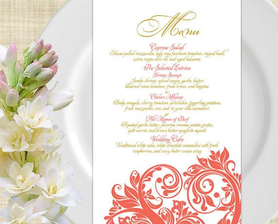 Event Menu Template Cake Order Contract Event Order Form And