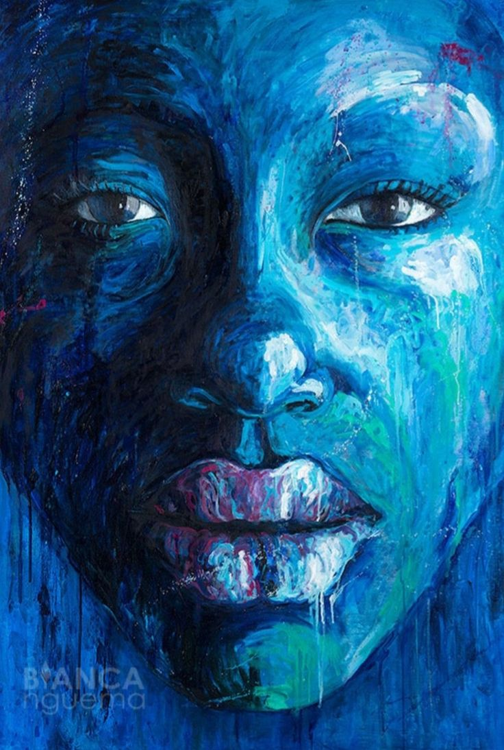 Oil painting on canvas. Portrait of a black african woman in her fragility . Woman Painting, Oil Painting On Canvas, African Women, Black Art, Roots, Black Women, Sea, Portrait, Color