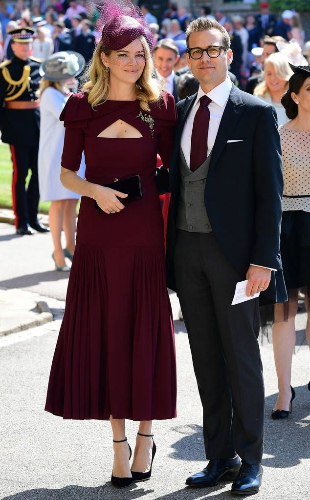 Gabriel Macht & Jacinda Barrett from Meghan Markle and Prince