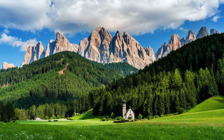 """Italy,Although many who visit Italy make the trip for cultural reasons (the ruins of ancient Rome, wine tours and eating pizza in piazzas.) The country also has natural resources worth showing off. Monte San Giorgio is considered to hold the best marine fossils of the Triassic Period, and UNESCO describes the Dolomites as """"the most beautiful mountain landscapes anywhere, with vertical walls, sheer cliffs and a high density of narrow, deep and long valleys."""