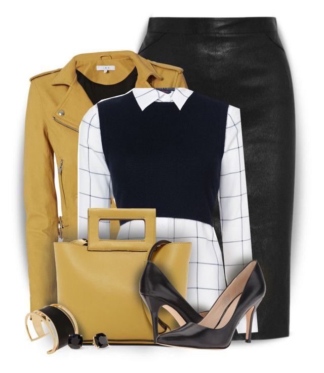 Alice+Olivia Lucinda Layered Shirt by colierollers on Polyvore featuring Alice + Olivia, IRO, Givenchy, Nine West, French Connection, Rachel Zoe and Kate Spade