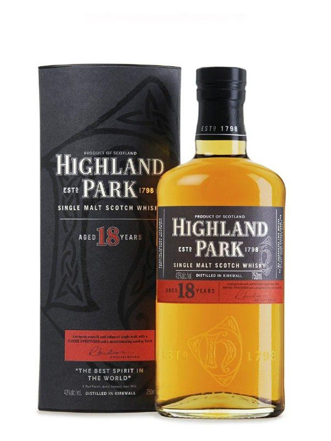 Whisky HIGHLAND PARK 18 ans 43% - La Maison du Whisky