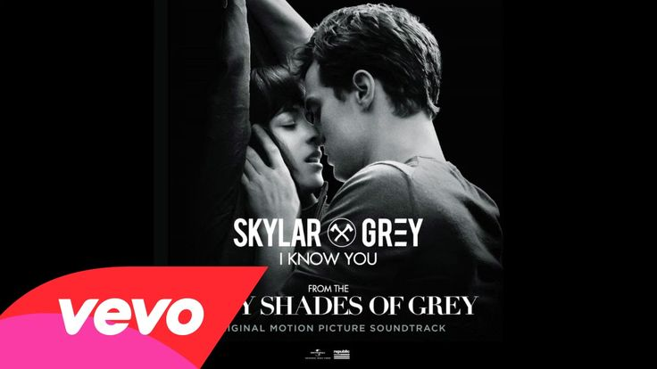 Amazing!  Perfect for Christian and Ana! Skylar Grey - I Know You (Fifty Shades Of Grey) (Lyric Video)