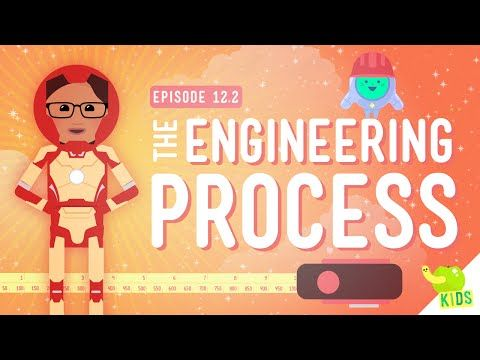 The Engineering Process: Crash Course Kids #12.2 by thecrashcourse: So, how do we go about being engineers? In this episode of Crash Course Kids, Sabrina talks to us about the Engineering Process and why we should do things in order, as well as many of the questions we should ask along the way. Support at: http://patreon.com/crashcourse