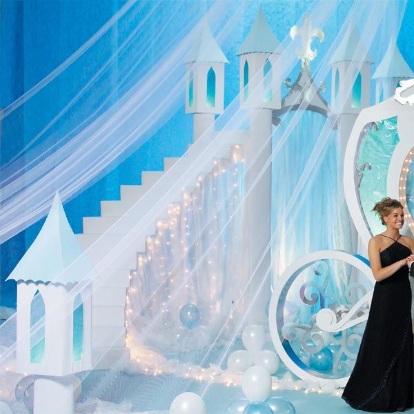Stairway to a Castle in the Clouds Kit | Cinderella Prom ...