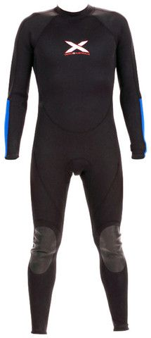 1mm Steamer Wetsuit - Titanium Supa-Stretch Flatlock | triple-x-wetsuits