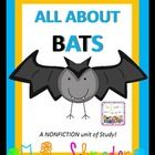 Skills: Students will practice reading skills with both fiction and nonfiction books.  Bats by Gail Gibbobs and Stellaluna.  Super cute unit. $