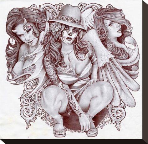 Tres Chicanas