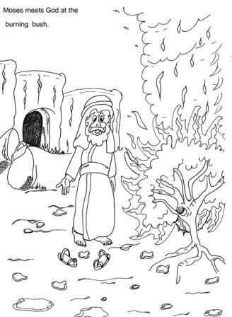 47 best Moses Burning Bush images on Pinterest Burning bush