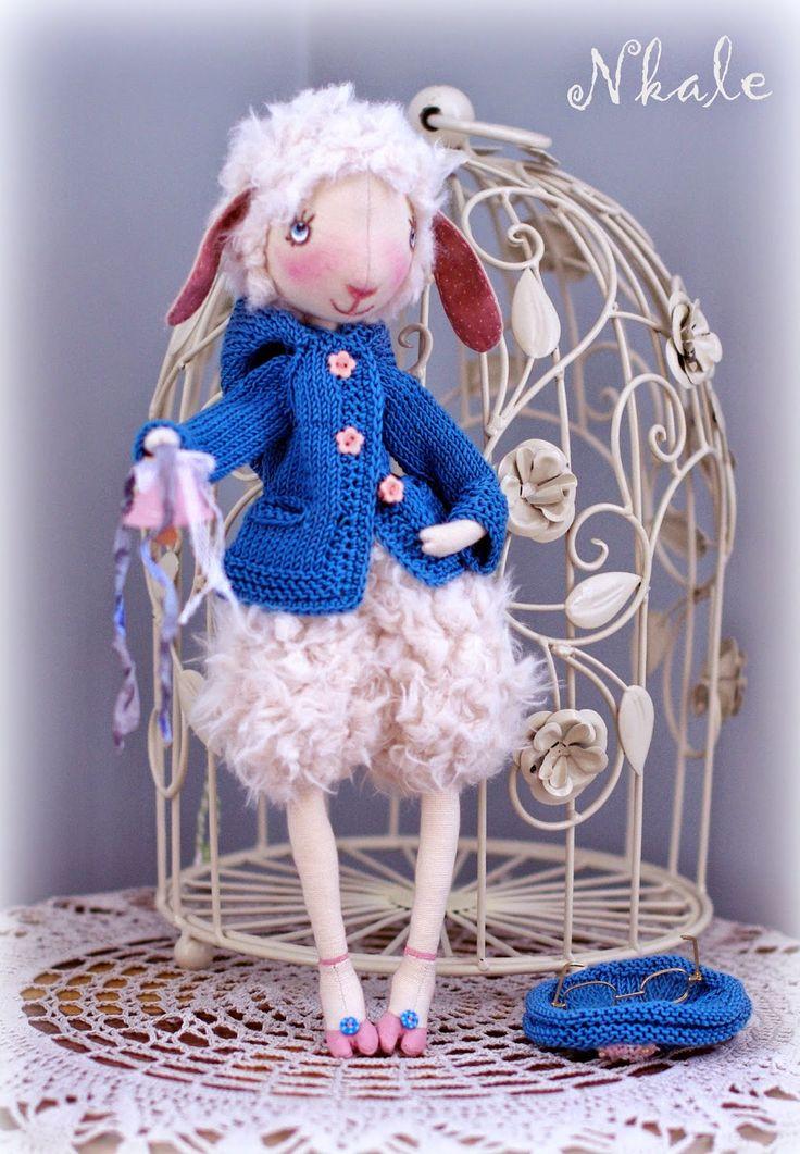 NKALE :-) В каждой игрушке сердце: Лизетта - Лиза...