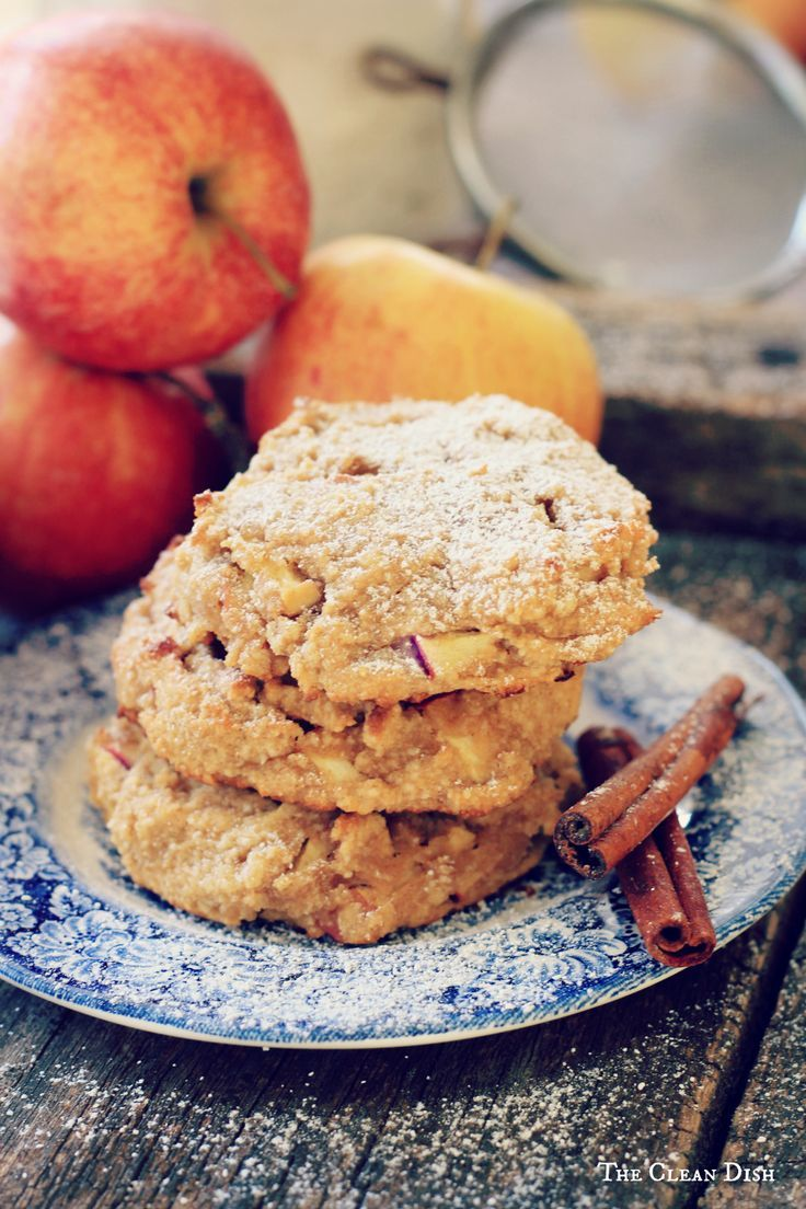 Cinnamon Apple Cookies {grain free, gluten free, refined sugar free, dairy free}