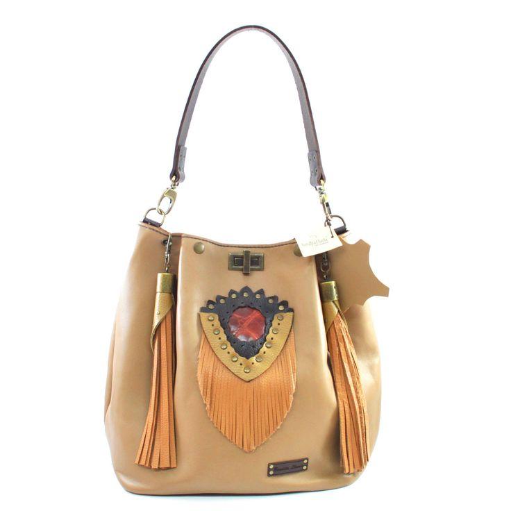 Sandia - Bolso de piel pensado en la elegancia y sofisticación.