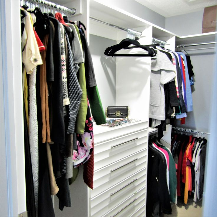 THE CLOSET MAKEOVER - FROM BLAHHH TO GLAMMM!!!