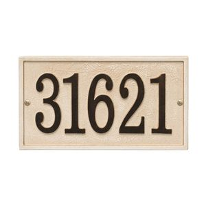 Southwestern Theme Home Address Sign