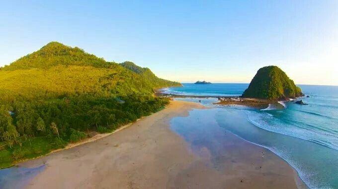 Pulau merah beach, Banyuwangi